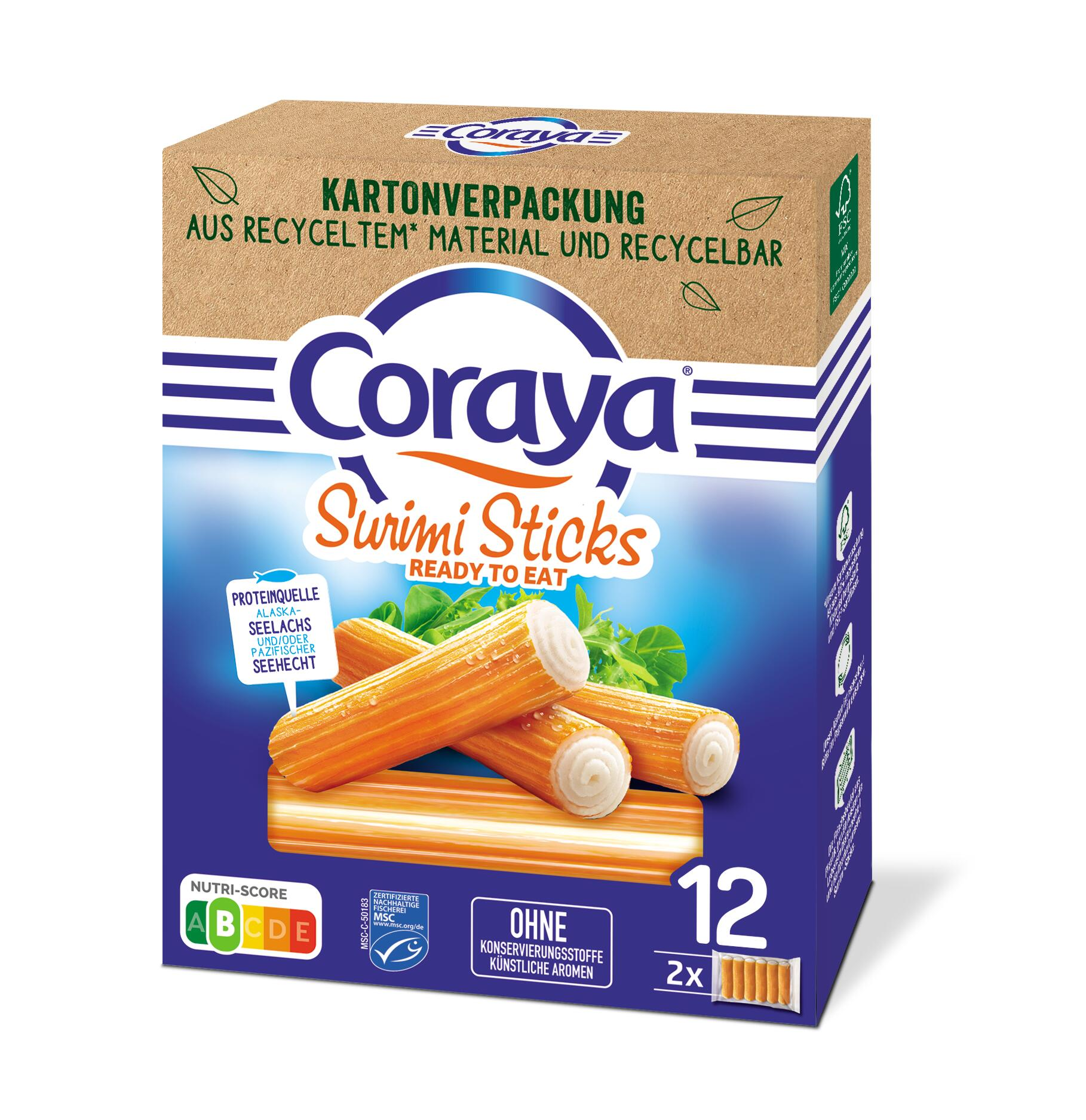 MSC CORAYA SURIMI - STICKS 200G